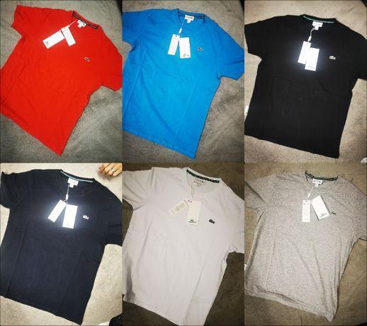 Koszulka męska Lacoste S-3XL Shirt Premium