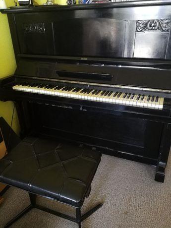 Porządne niemieckie pianino m-ki Grunert - sprawne!!! Stołek gratis!