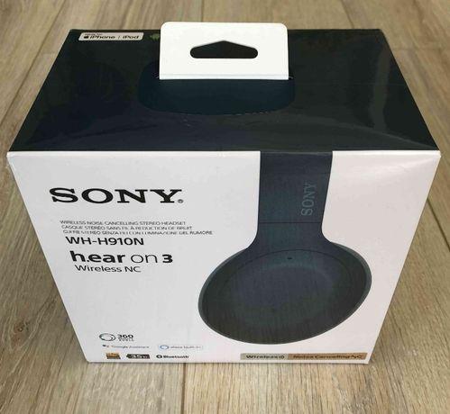 NOWE bezprzewodowe słuchawki SONY h.ear on 3 WH-H910N