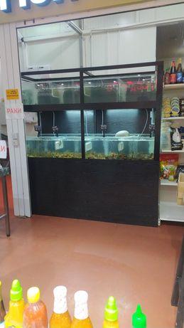 Изготовление, сервис торговых аквариумов
