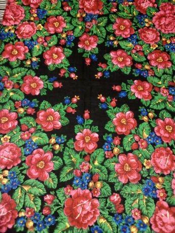 Новый шерстяной платок СССР