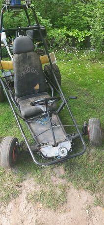 Gokart buggy samoróbka z silnikiem ATV 125cm.