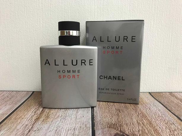Мужские духи Allure homme Sport 100ml парфюм туалетная вода Шанель