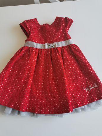 Piękna sukienka Disney baby r. 80