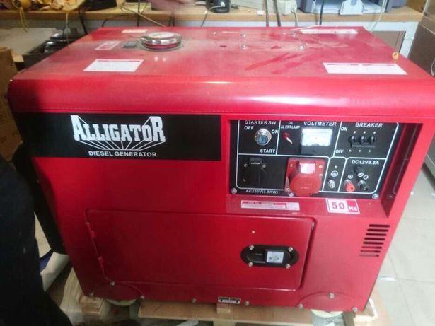 Генератор дизельний Alligator HL-12-500