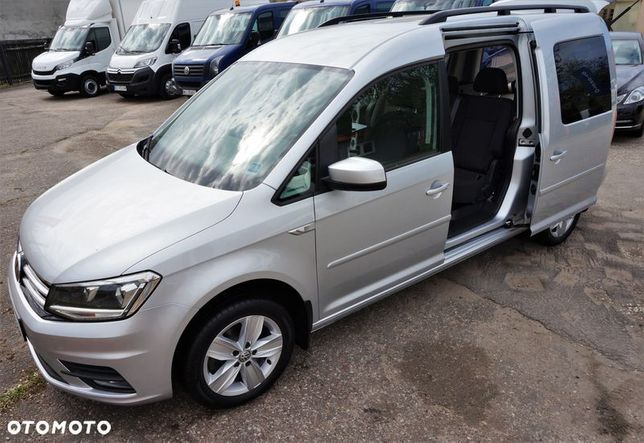 Volkswagen Caddy MAXI LONG 5os. Kombi Van Minibus  Salon Polska, Możliwość finansowania KREDYT, LEASING