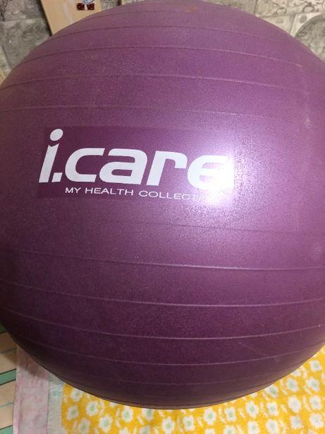 Мяч для фитнеса (фитбол) i.care, 75 см 500 руб