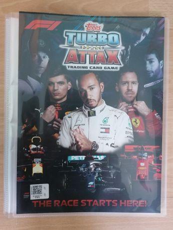 Album Topps F1 Turbo Attax z kartami