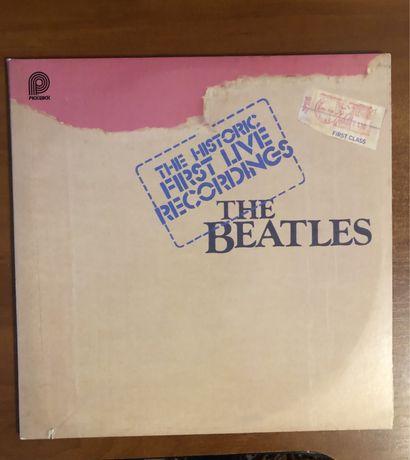Виниловые пластинки, The Beatles the historic first live recordings