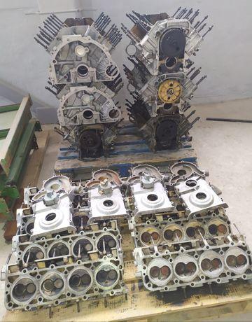 Блок головки двигателя ГБЦ мотора Газ 53 3307 66 Паз мин.пробег/ б/у