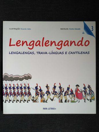 Lengalengando 3 Lengalengas, Trava-Línguas e Cantilenas