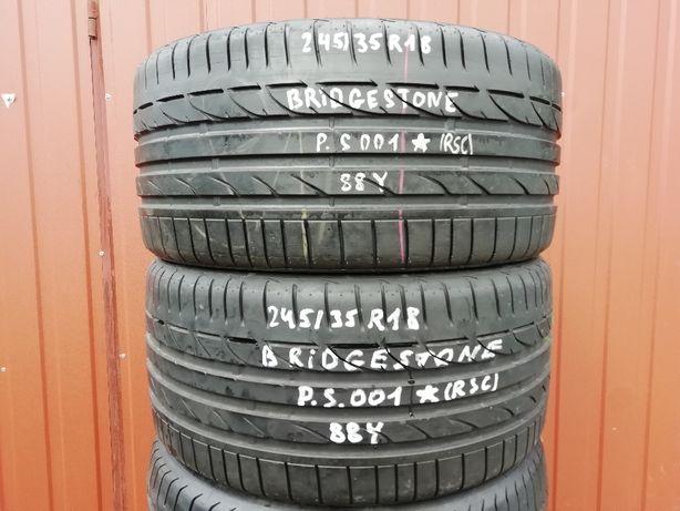 245/35 R18 88Y - Bridgestone Potenza S001 * RSC - Run Flat (2 sztuki)