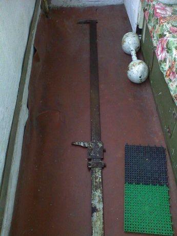 штангенциркуль 1,5 метровий