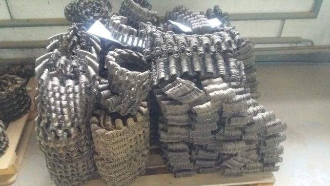 Sprężyny faliste do kanap sof Typ A i B cena za 100 szt, faktura