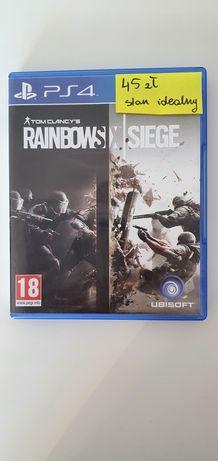 Gra na PS4 Rainbows x Siege stan idealny