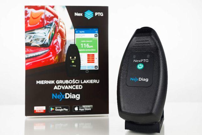 Miernik grubości lakieru samochodu NexPTG Advanced