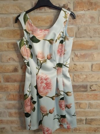 Sukienka elegancka wesele komunia mohito XS s 34 36