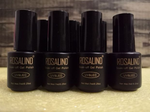 Rosalind hybryda UV LED 7 ml soak - off gel polish