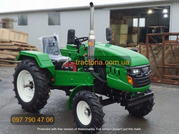 Трактор Булат Т-245 XL+ФРЕЗА+ВОМ Мінітрактор мототрактор Шифенг Зубр