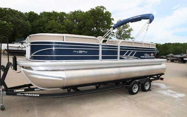 Понтон Sun Tracker Party Barge 22XP3, 2020 г.в., США