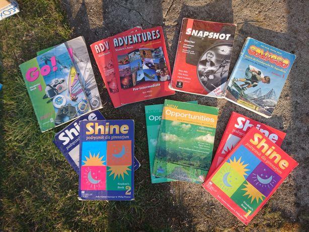 Stare Książki do języka angielskiego. GO, Shine, Adventures, Snapshot,