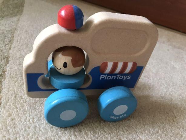 Plan Toys drewniany samochód