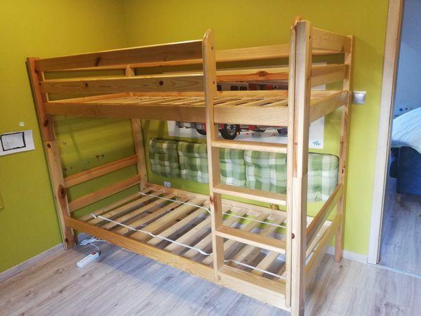 Łóżko piętrowe 90cm x 200cm