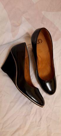 Туфли скала лаковые