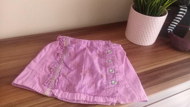 Spódnica różowa dla dziewczynki rozm 104