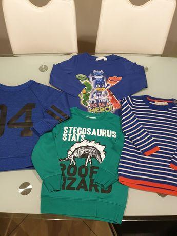 Bluzy chłopięce h&m 110-116
