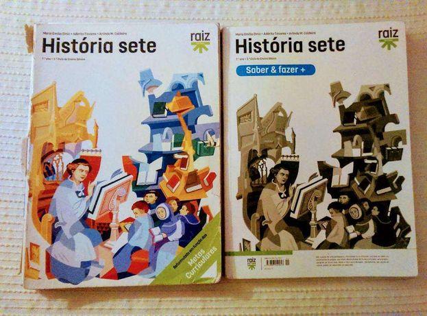 """Caderno de atividades de história 7 ano """"História sete"""""""