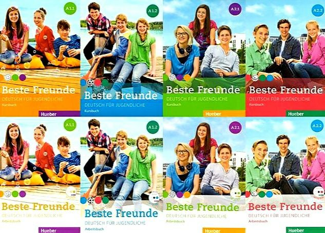 Друк Beste Freunde (всі рівні) + аудіо