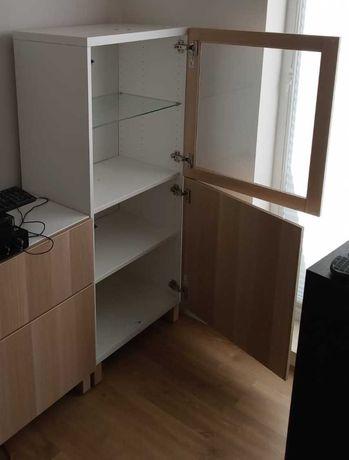 Komoda BESTA z przeszkleniem IKEA