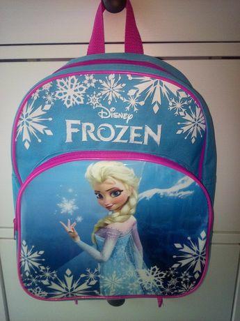 Plecak ELSA i ANNA przedszkolny FROZEN wycieczkowy KRAINA LODU Disney