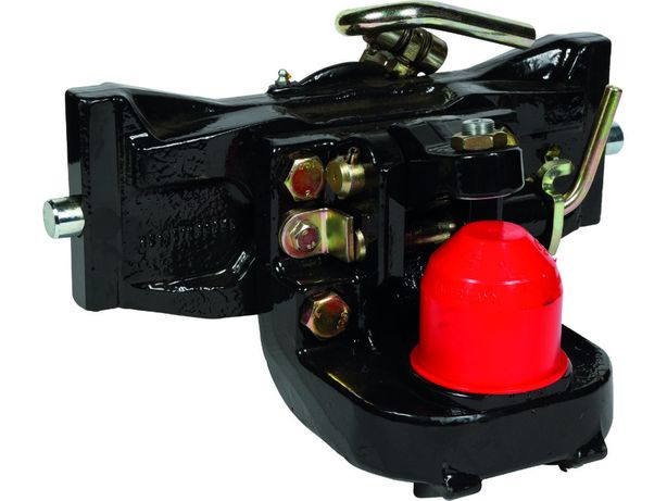 Zaczep kulowy K80 390mm. Sauermann Fendt John Deere Deutz listwa dolna