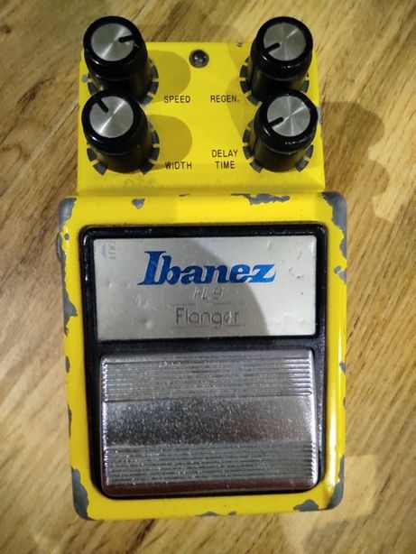 Ibanez Flanger Efekt Pedal lata 1980'a