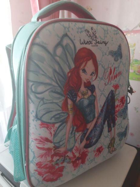 Рюкзак школьный Kite Winx fairy couture 38х29х16 см 16 л для девочек