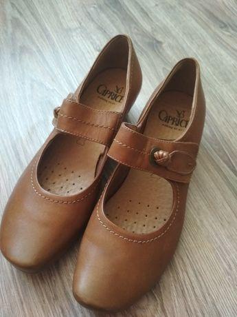 Buty skórzane damskie Caprice r. 38 nowe