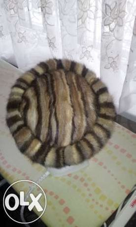 шапочка шапка из норки норковая