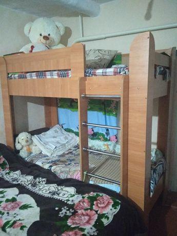 Ліжко дитяче двоповерхове (двоярусне Дует-3)