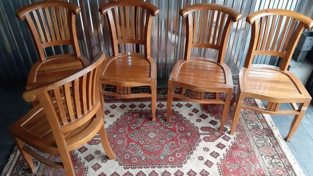 drewniane krzesła  5  za 300zł