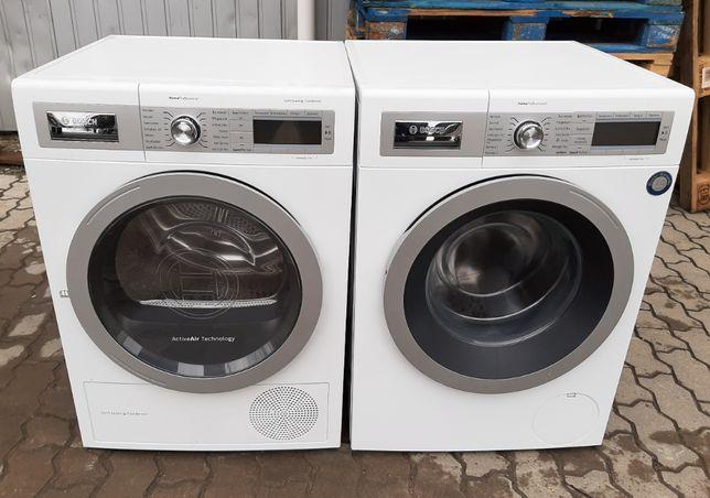 Комплект стиральная и сушильная машина Бош Bosch WAY2854D, WTY88731