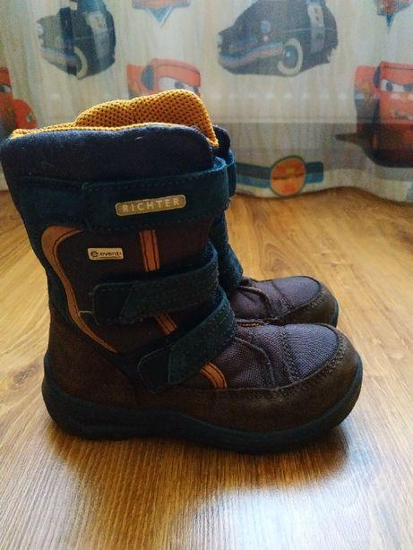 Ботинки оригинальные на мальчика зима Richter р.27