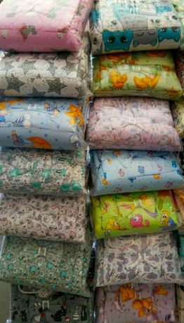 Набор детского постельного белья 9в1 бортики, одеяло, подушка,балдахин