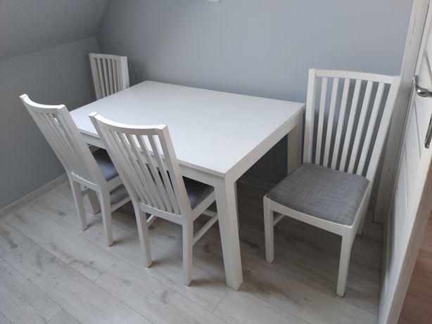 Stół i krzesła idealny stan , gwarancja
