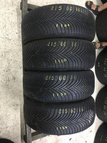 Шини резина 215/60r16 Michelin 6mm 4шт. Зима зимние