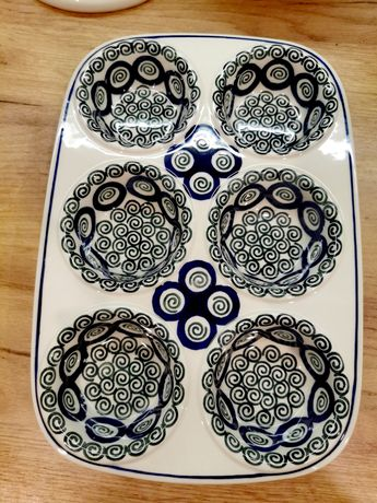 Forma do mufinek Ceramika Artystyczna Bolesławiec