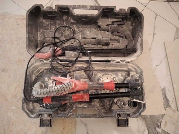 Жерафа затирачный электроинструмент с угловой насадкой