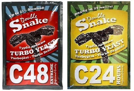 Дрожжи спиртовые DOUBLE SNAKE Turbo С 48 ; C24