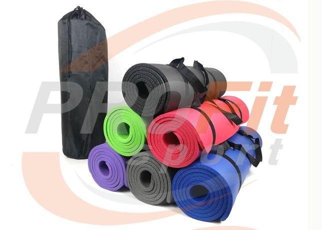 Коврик MaxFit из каучука NBR-мат для фитнеса йоги йогамат каремат 10мм